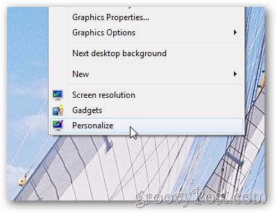 windows 7 - open themes