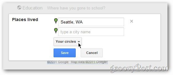 google+ privacy controls