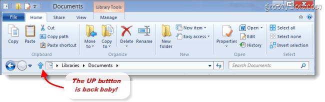 windows 8 up button makes a return