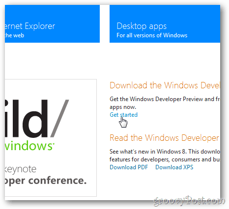 windows 8 download page