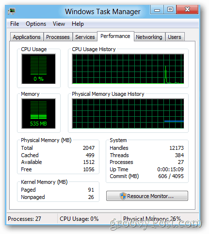 Windows legacy task manager