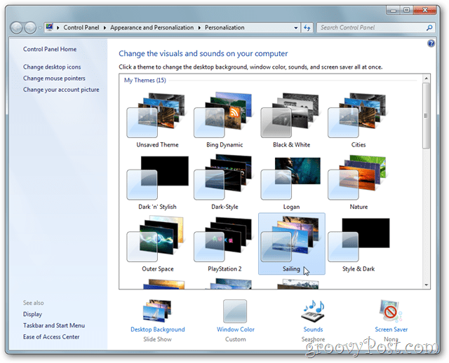 Windows 7 Theme Library