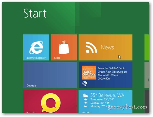 Windows 8 Metro Desktop news