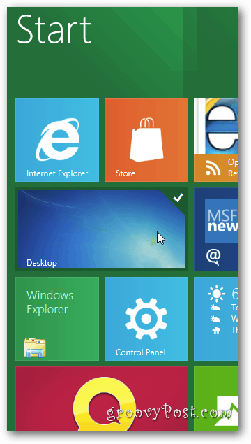 Resize Metro App Tiles Windows 8 Desktop