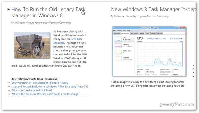 Windows 8 news headlines details