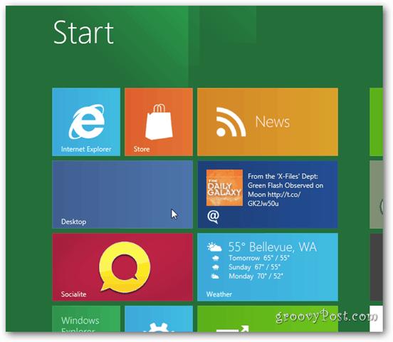 Cómo cambiar la resolución de la pantalla en Windows 8