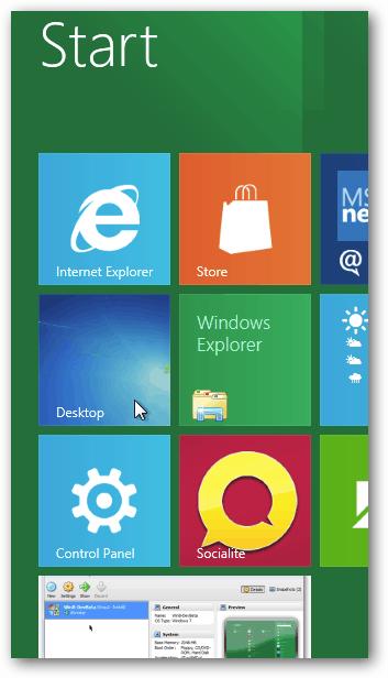 Smaller Desktop App