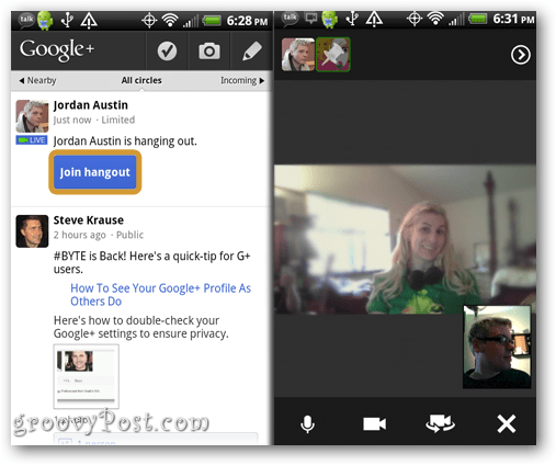 how to keep google hangouts running