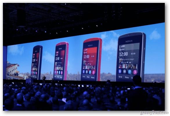 Nokia Asha and Lumia