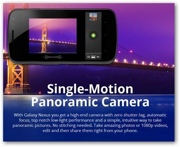Galaxy Nexus Camera - Nexus Site