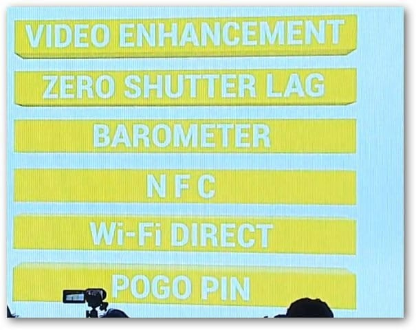 Galaxy Nexus Camera Slide