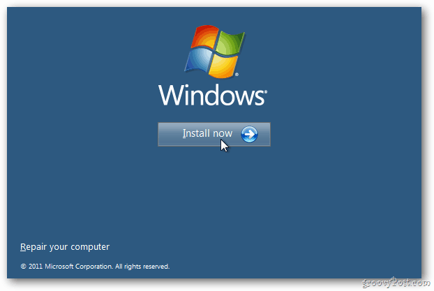 Install win8 dev prev
