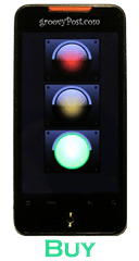 Phone Traffic Light Green