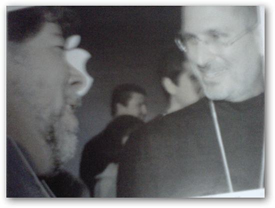 Steve Jobs and Woz