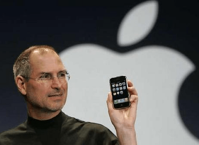 Steve Jobs at Keynote