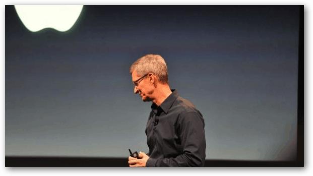 Tim Cook Apple Keynote