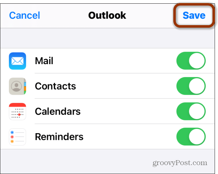 email items