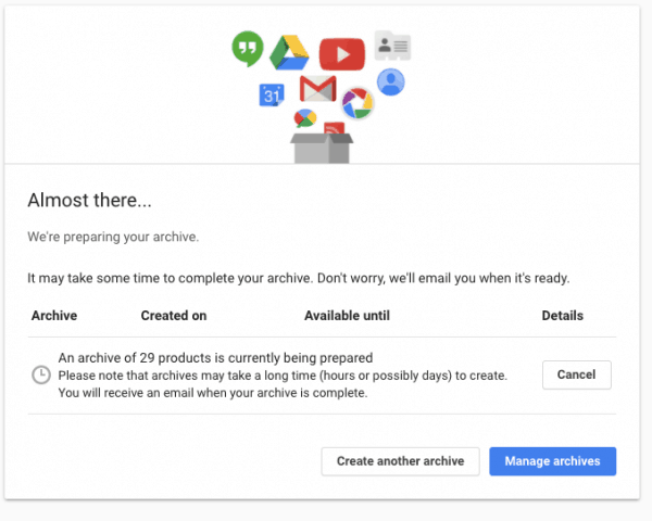 How To Download Your Personal Data From Google Services