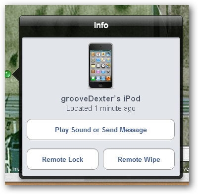 lock or wipe or message your lost iphone ipad or ipod