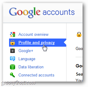 Google+ profile and privacy