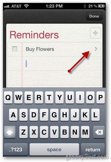 iphone 4 ios 5 reminders configure