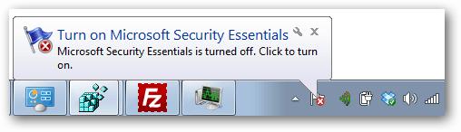 Microsoft Windows annoying balloon tips