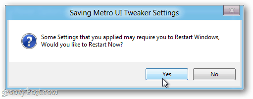 adjust metro ui tweaker settings