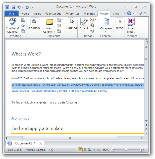 Adjust spacing in microsoft word