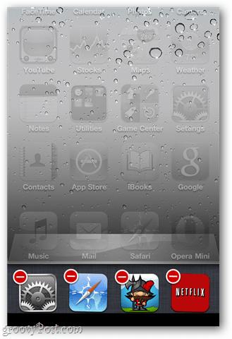 Close Apps in iOS