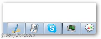 Skype Taskbar