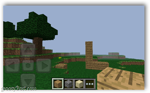 minecraft pocket world screenshot