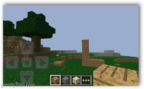 minecraft pocket world screenshot