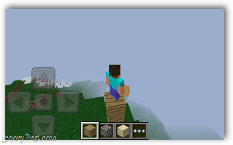 minecraft pocket mountain top