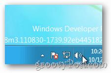 windows 8 sound system tray