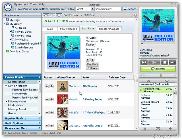 Napster Desktop