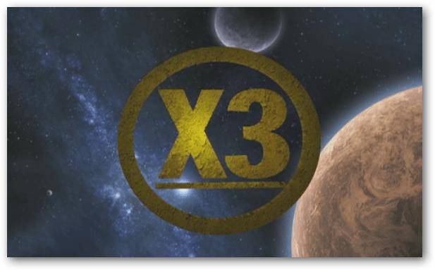 X3 Show Logo