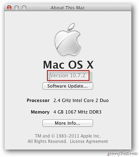 OS X Lion 10.7.2