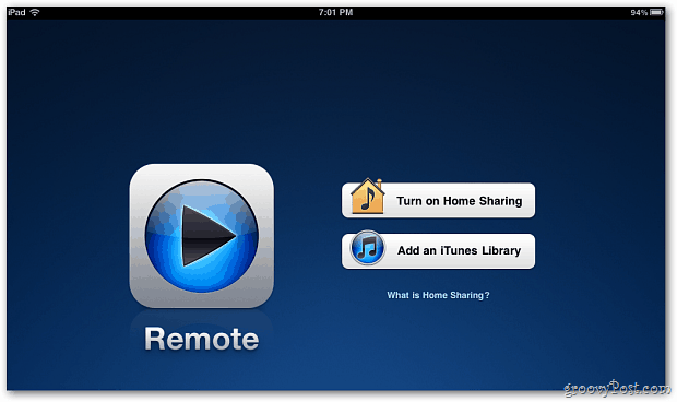 Apple Remote App