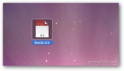 ICS File