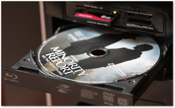 DVD Movie PC Tray