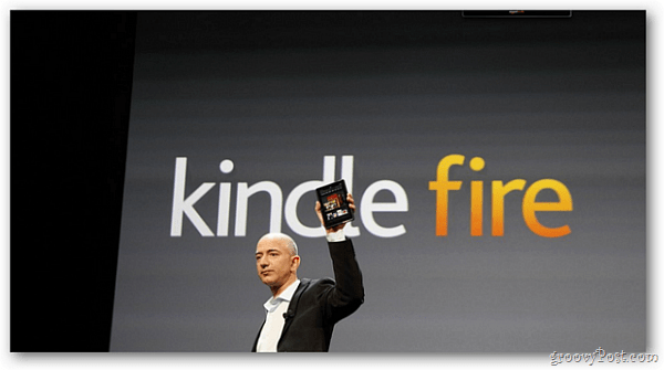 Kindle Fire Announcement