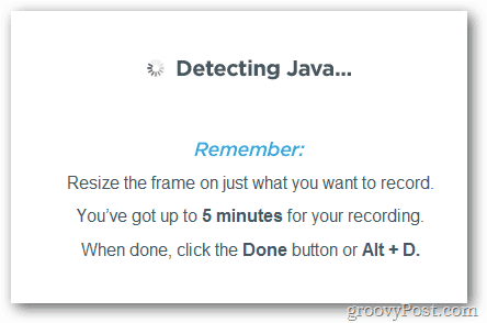 Java Detection