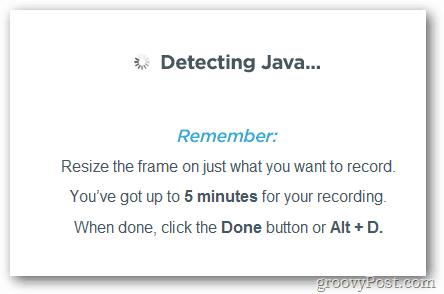 Java Detection