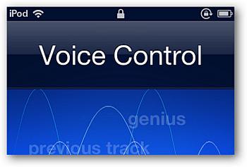 Voice Control ipod