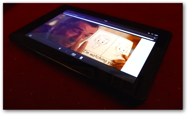 Amazon Kindle Fire is watching you browse
