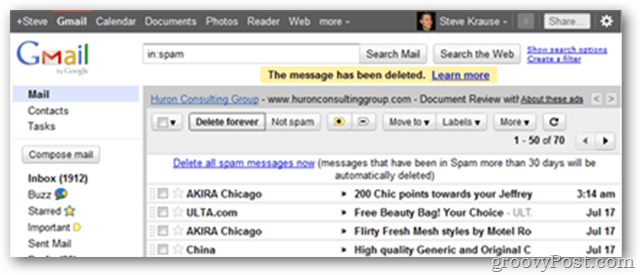 Old GMAIL UI Client