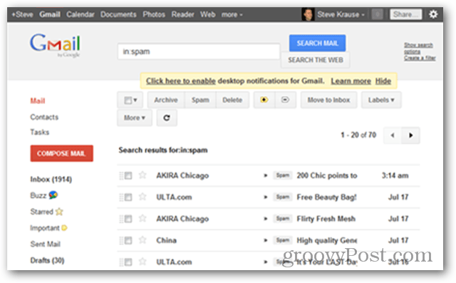 New Redesigned GMAIL UI