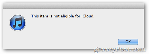 itunes match not eligible for icloud music