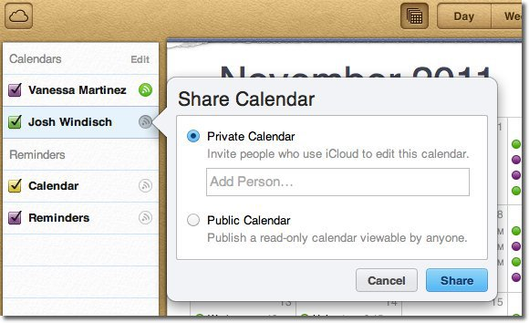 how to change icloud email send name