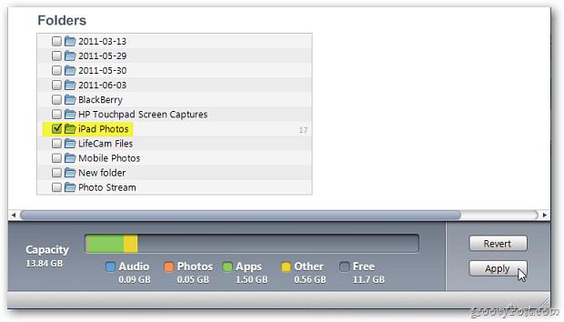 iTunes Folders